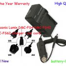 Battery Charger for DE-A59A DE-A59B Panasonic Lumix DMC-FS4 DMC-FS42 DMC-FS62