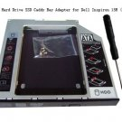 2nd SATA Hard Drive SSD Caddy Bay Adapter for Dell Inspiron 15R (5521 5537)