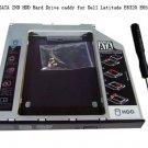 9.5mm SATA 2ND HDD Hard Drive caddy for Dell Latitude E6320 E6520 E4300