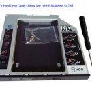 2nd SATA Hard Drive Caddy Optical Bay for HP AK868AA SATA3