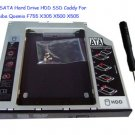 New Sata 2nd Hdd Ssd Hard Drive Caddy for Dell Alienware M14x Replace Uj8a7 Dvd