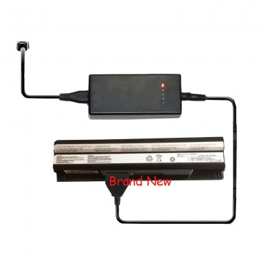 External Laptop Battery Charger for MSI E2MS110K2002 E2MS110W2002 E2MS115K2002
