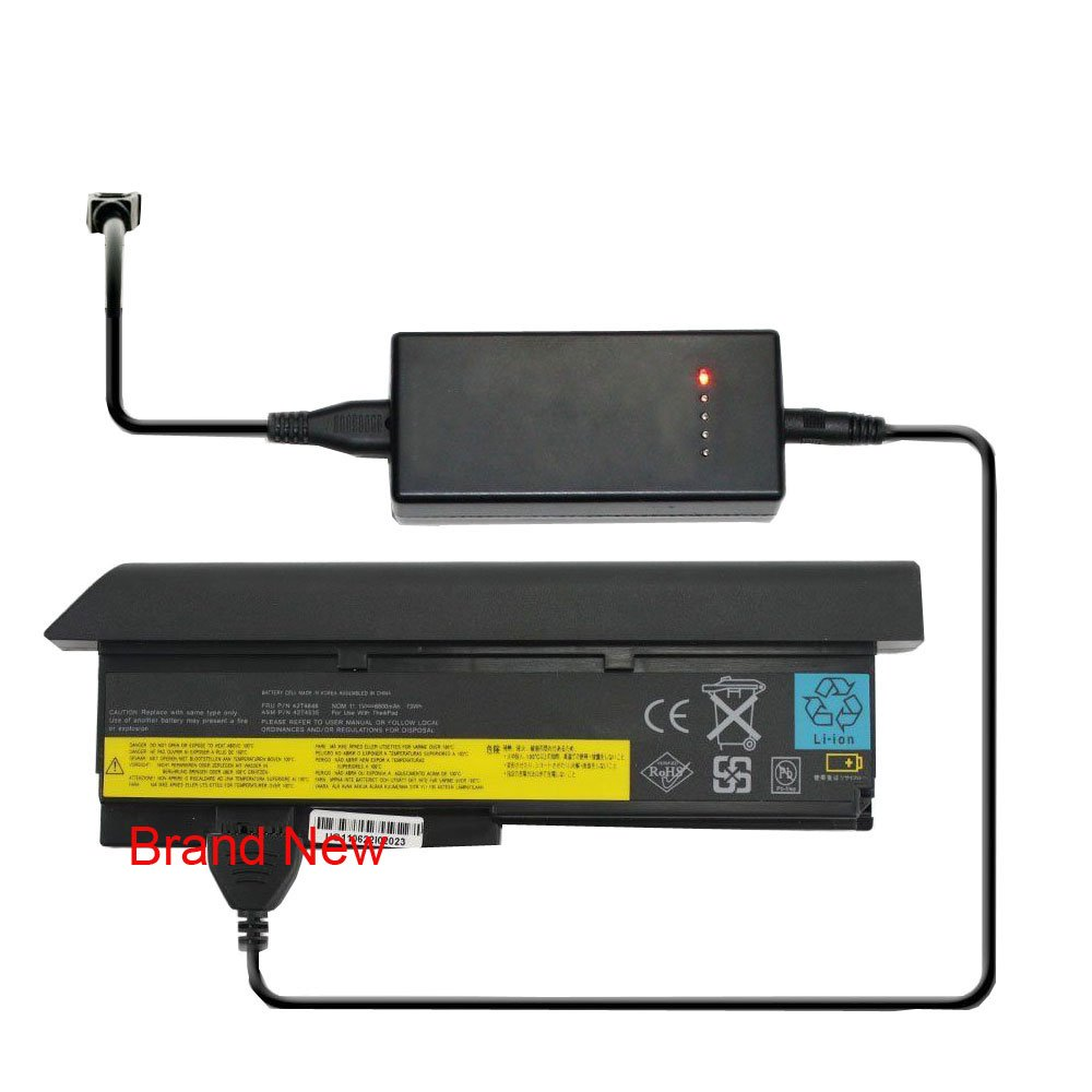External Laptop Battery Charger for Lenovo FRU 42T4548 FRU 42T4645 FRU 42T5262 FRU 42T5264