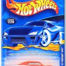 Hot Wheels - '67 Pontiac GTO: Collector #226 (2000) *Orange Edition*