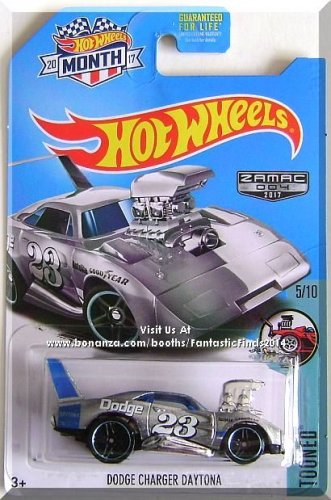 Hot Wheels - Dodge Charger Daytona: Tooned #5/10 - ZAMAC #004 (2017) *Walmart*