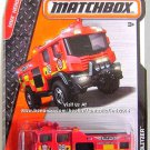 Matchbox - Blaze Blitzer: MBX Heroic Rescue #66/120 (2015) *Red Edition*