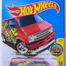 Hot Wheels - Custom '77 Dodge Van: HW Art Cars #7/10 - #197/250 (2016) *Magenta*