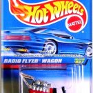 Hot Wheels - Radio Flyer Wagon: Collector #827 (1998) *Red Edition / China Base*