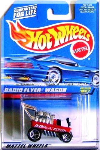 Hot Wheels - Radio Flyer Wagon: Collector #827 (1998) *Red Edition / China Base*