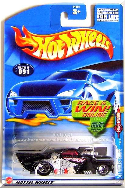 Hot Wheels - '41 Willys Coupe: '02 Masters Of The Universe #1/4 - Collector #091