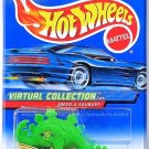 Hot Wheels - Speed-A-Saurus: Virtual Collection Cars #104 (2000) *Green Edition*
