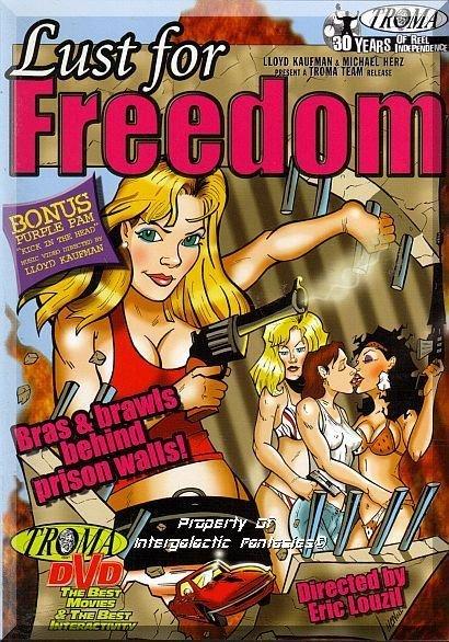 DVD - Lust For Freedom: Unrated (1987) *Melanie Coll / Judi Trevor / Troma Team*