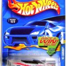 Hot Wheels - '95 Camaro: Collector #177 (2002) *White Edition / Race & Win Card*