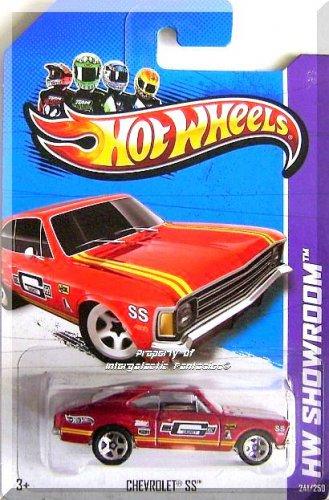 Hot Wheels - Chevrolet SS: HW Showroom 2013 HW Performance #241/250 *Red*