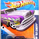 Hot Wheels - Custom '53 Chevy: Heat Fleet '11 #1/10 - #91/244 *Purple Edition*