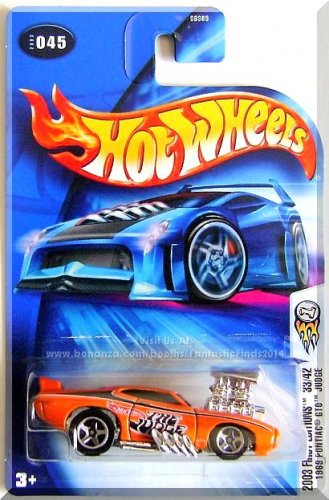 Hot Wheels - 1969 Pontiac GTO Judge: 2003 First Editions #33/42 - Collector #045