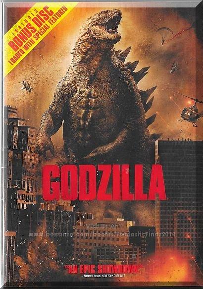 DVD - Godzilla (2014) *Elizabeth Olsen / Bryan Cranston / Aaron Taylor Johnson*