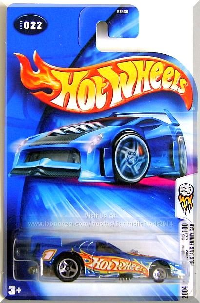 Hot Wheels - Mustang Funny Car: 2004 First Editions #22/100 - Collector #022