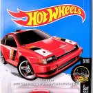 Hot Wheels - 1985 Honda CR-X: Night Burnerz #5/10 - #85/250 (2016) *Red Edition*