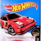 Hot Wheels - 1985 Honda CR-X: Night Burnerz #5/10 - #85/250 (2016) *Red Edition*