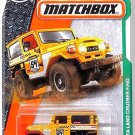 Matchbox - Toyota Land Cruiser FJ40: MBX Explorers #120/125 *Yellow Edition*