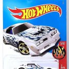 Hot Wheels - '77 Pontiac Firebird: HW Flames #5/10 - #132/365 (2017) *White*