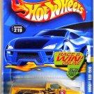 Hot Wheels - Dodge Ram 1500: Collector #219 (2002) *Yellow Edition / Race & Win*