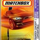 Matchbox - Volkswagen Concept 1 Convertible: Metro Rides #7/7 (2008) *Yellow*