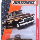 Matchbox - '57 GMC Stepside: MBX Heroic Rescue #80/125 (2017) *Brown Edition*