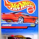 Hot Wheels - Flashfire: Collector #140 (1998) *Black Edition / 5 DOT*