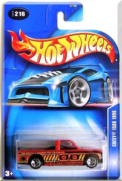 Hot Wheels - Chevy 1500 1996: Collector #216 (2003) *Orange Edition*