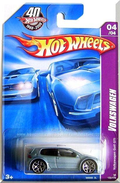 Hot Wheels - Volkswagen Golf GTI: Team Volkswagen #04/04 / #132/172 (2008)