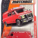 Matchbox - '95 Custom Chevy Van: MBX Heroic Rescue #87/125 (2017) *Motorcycle*