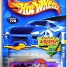 Hot Wheels - Ford F-150: Collector #220 (2002) *Purple Edition / Race & Win*