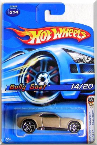 Hot Wheels - Bully Goat: 2005 First Editions #14/20 - Collector #014 *Realistix*