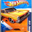 Hot Wheels - '65 Pontiac GTO: Street Beasts '11 #5/10 - #85/244 *Orange Edition*