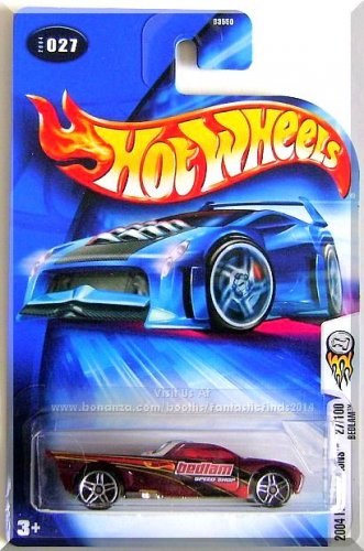 Hot Wheels - Bedlam: 2004 First Editions #27/100 - Collector #027 *Plum Edition*