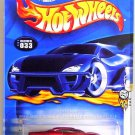 Hot Wheels - GT-03: 2003 First Editions #21/42 - Collector #033 *Red Edition*