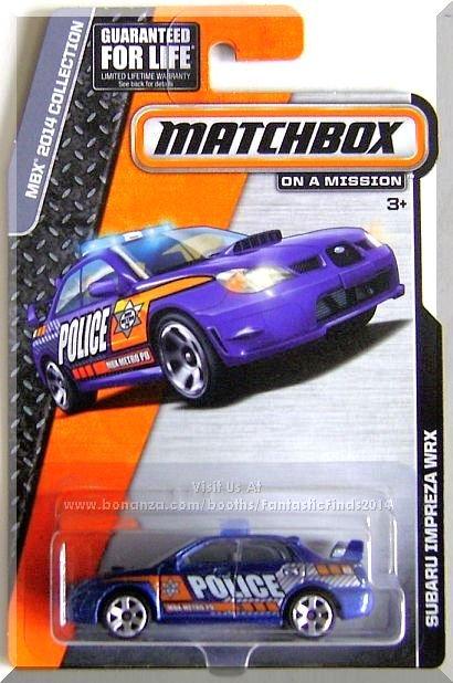 Matchbox - Subaru Impreza WRX: MBX 2014 Collection *Dark Blue Edition*