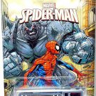 Hot Wheels - Fire Eater: 2014 Marvel Spider-Man Series #06/08 *The Rhino*