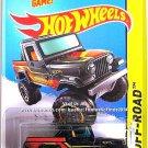 Hot Wheels - Jeep Scrambler: HW Off-Road 2014 - HW Hot Trucks #138/250 *Black*