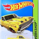 Hot Wheels - '65 Ford Ranchero: HW Workshop 2015 - Heat Fleet #212/250 *Yellow*