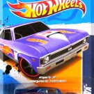 Hot Wheels - '68 Nova: HW Racing '12 #1/10 - #171/247 *Blue Edition*