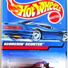 Hot Wheels - Scorchin' Scooter: Collector #1075 (1999) *Red Edition / No Number*