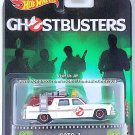 Hot Wheels - Ecto-1: 2017 Retro Entertainment - Ghostbusters *White Edition*
