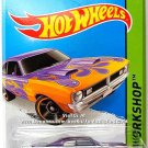 Hot Wheels - '71 Dodge Demon: HW Workshop 2014 - Heat Fleet #216/250 *Purple*