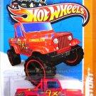 Hot Wheels - Jeep Scrambler: HW Stunt '13 - Stunt Circuit #78/250 *Red Edition*