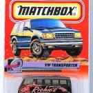 Matchbox - VW Transporter: Speedy Delivery #57/100 (2000) *Black Edition*