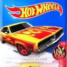 Hot Wheels - '69 Dodge Charger: HW Flames #1/10 - #91/250 (2016) *Yellow*