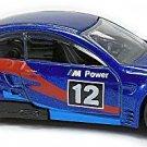 Hot Wheels - BMW M3 GT2: BMW 100th Anniversary Series #5/8 (2016) *Blue / Loose*